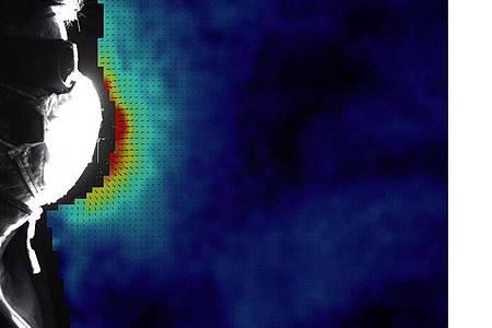 Bei der Erforschung von Corona-Infektionswegen nehmen Wissenschaftler zunehmend sogenannte Aerosole unter die Lupe. Foto: Christian Kähler/Universität der Bundeswehr München/dpa
