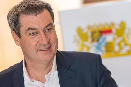 Bayerns Ministerpräsident Markus Söder. Foto: Peter Kneffel/dpa