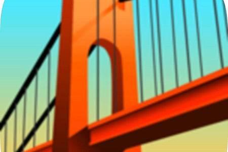 Ist die Brücke stabil genug? In «Bridge Constructor» müssen die Bauwerke einem Stress-Test standhalten. Foto: App Store von Apple/dpa-infocom