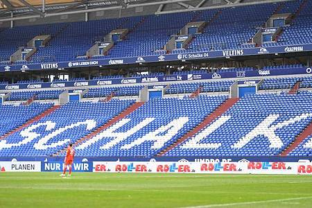 Bis mindestens Ende Oktober wird es keine Zuschauer in den Stadien und Arenen geben. Foto: Bernd Thissen/dpa-Pool/dpa