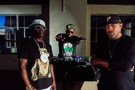 Sie gehen keine Kompromisse ein:Public Enemy. Foto: Def Jam/Universal Music/dpa