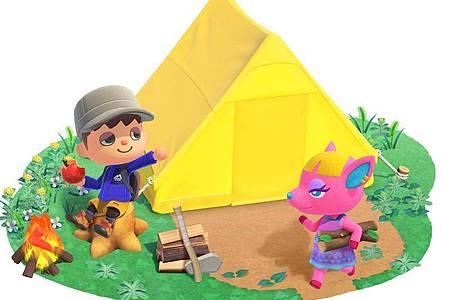 Die eigene kleine Welt aufbauen, wuselige Tiere treffen, Spaß haben - das ist der Spielinhalt von «Animal Crossing:New Horizons». Foto: Nintendo/dpa-tmn