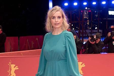 Die Schauspielerin Nina Hoss wird ausgezeichnet. Foto: Jörg Carstensen/dpa
