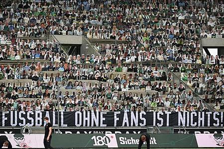Wann dürfen wieder Zuschauer in deutsche Fußball-Stadien?. Foto: Federico Gambarini/dpa-Pool/dpa