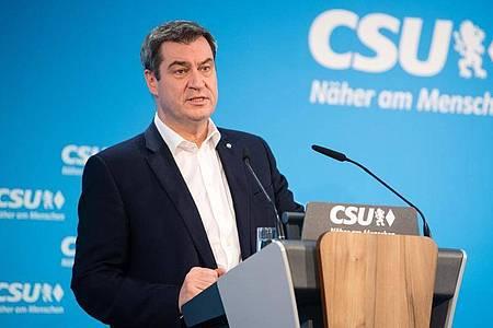 Bayern hat zum Schutz der Wirtschaft ein Hilfspaket in Höhe von zehn Milliarden Euro bereitgestellt. Foto: Matthias Balk/dpa
