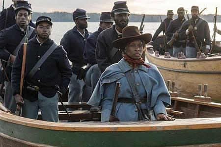 Harriet Tubman (Cynthia Erivo) wurde zu einer wichtigen Helferin, die Hunderte Sklaven in die Freiheit schleuste. Foto: Glen Wilson/Universal Pictures/dpa