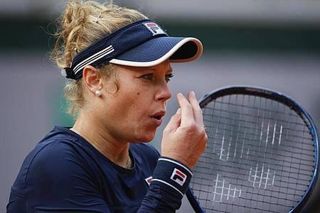 Laura Siegemund ist bei den French Open an Petra Kvitova gescheitert. Foto: Christophe Ena/AP/dpa