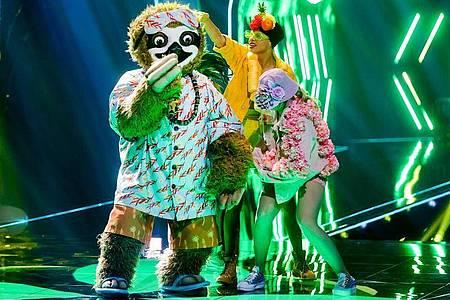 «Masked Singer»:Tom Beck war «Das Faultier». Foto: Rolf Vennenbernd/dpa
