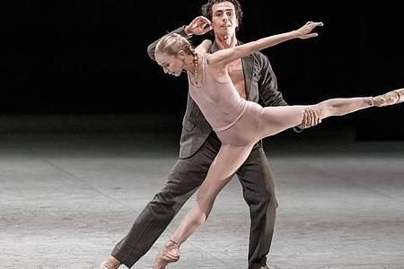 Fotoprobe zu «Ghost Light»: Das Ballett von John Neumeier wird an der Hamburger Staatsoper gezeigt. Foto: Markus Scholz/dpa