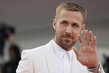Ryan Gosling in Venedig (2018). Foto: Kirsty Wigglesworth/AP/dpa