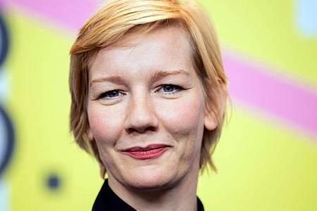 Sandra Hüller lässt jetzt auch als Musikerin von sich hören. Foto: Christoph Soeder/dpa