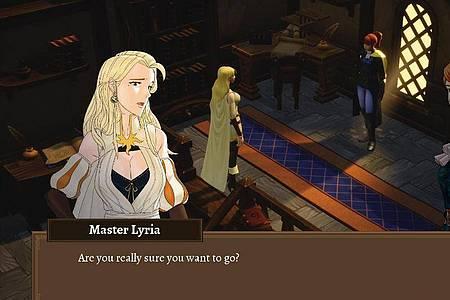 Kämpferin Eliza muss in «Grand Guilds» das Geheimnis hinter mysteriösen Angriffen auf ihr Land lösen. Foto: Drix Studios/dpa-mag