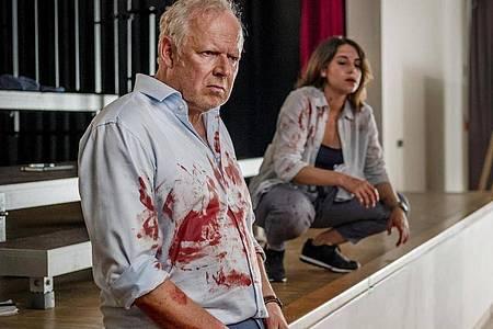 Haben Borowski (Axel Milberg) und Sahin (Almila Bagriacik) versagt? Wie konnte es zu dem Vorfall kommen?. Foto: Gordon Timpen/NDR/dpa