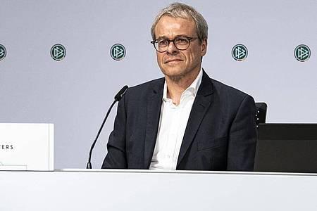 Wird den FCSchalke 04 verlassen:Peter Peters. Foto: Thomas Böcker/DFB/dpa