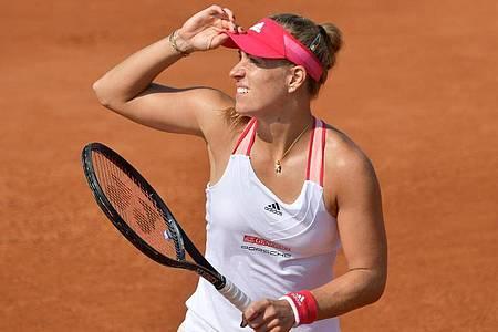 Für Angelique Kerber ist bereits nach der ersten Runde bei den French Open Endstation. Foto: Alfredo Falcone/LaPresse via ZUMA Press/dpa