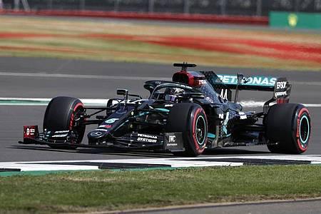 Auch im Abschlusstraining schnellster: Lewis Hamilton. Foto: Frank Augstein/PoolAP/dpa
