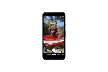 Das Google Pixel 4a kommt für rund 340 Euro auf den Markt. Foto: Google/dpa-tmn