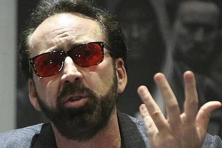 Nicolas Cage gab für diese neue Rolle die Zusage. Foto: Petros Karadjias/AP/dpa