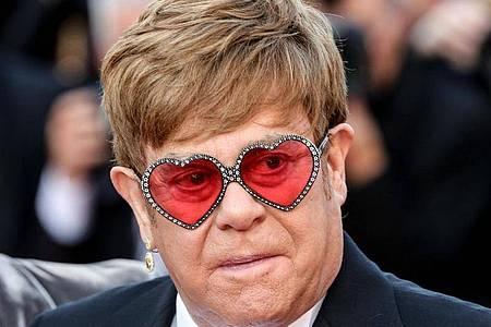 Elton John bei der Premiere des Films «Rocketman» in Cannes. Foto: -/Imagespace via ZUMA Wire/dpa