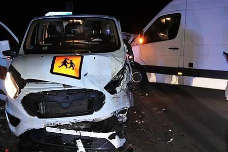 Beide Fahrzeuge wurden schwer beschädigt,