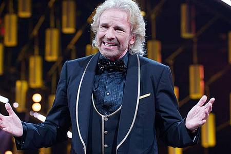 Thomas Gottschalk lässt sich zum 70. im Fernsehen feiern. Foto: Henning Kaiser/dpa