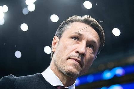 Hat sein erstes Training in Monaco geleitet: Ex-Bayern-Coach Niko Kovac. Foto: Matthias Balk/dpa
