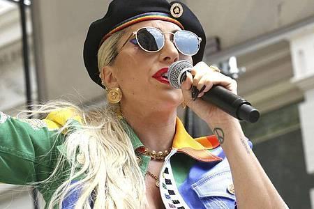 Lady Gaga verarbeitet auf «Chromatica» ihre Traumata. Foto: Greg Allen/Invision/AP/dpa