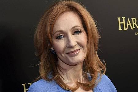 Die Autorin J.K. Rowling tut was gegen Langweile. Foto: Evan Agostini/Invision/AP/dpa
