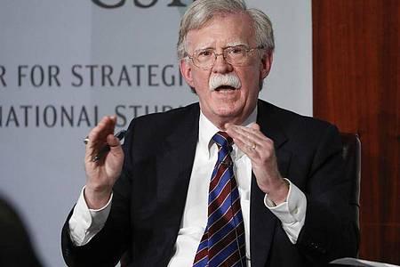 Soll leer ausgehen:Ex-Sicherheitsberater John Bolton. Foto: Pablo Martinez Monsivais/AP/dpa