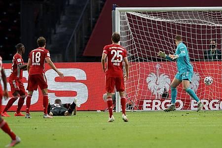 Sven Bender (M) sorgte für den Leverkusener Anschlusstreffer. Foto: Alexander Hassenstein/Getty Images Europe/Pool/dpa