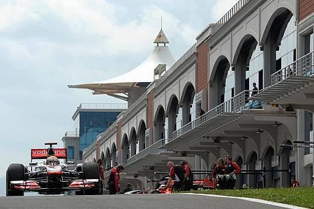 Nach neun Jahren Pause findet in Istanbul wieder ein Formel-1-Rennen statt. Foto: David Ebener/DPA/dpa