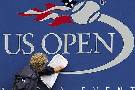 Wegen der Coronavirus-Krise prüfen auch die US Open eine Verlegung. Foto: Andrew Gombert/epa/dpa
