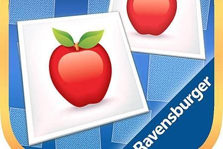 Der Spielklassiker «Memory» ist auch als iOS-Version gefragt. Foto: App Store von Apple/dpa-infocom