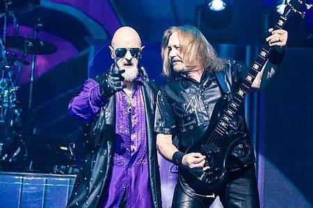 Judas Priest haben sich für 2021 in Wacken angesagt. Foto: Michael Mullenix/ZUMA Wire/dpa