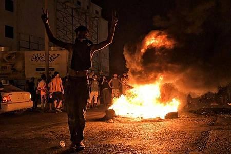 Trotz des EU-Einsatzes zur Überwachung des Waffenembargos kommt Libyen kaum zur Ruhe. Foto: Hakeam el-Yamany/AP/dpa
