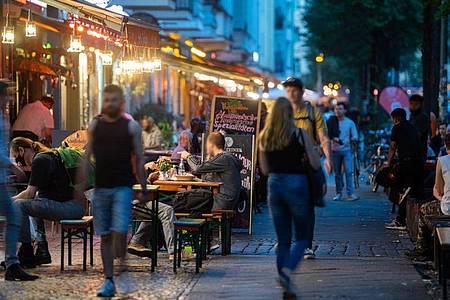 Friedrichshain-Kreuzberg hat eine der höchsten Infektionsraten. Foto: Christophe Gateau/dpa