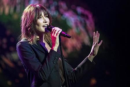Nach sieben Jahren gibt es wieder neue Chansons von Carla Bruni. Foto: Ennio Leanza/KEYSTONE/dpa