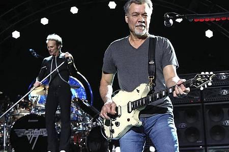 Eddie Van Halen ist im Alter von 65 Jahren gestorben. Foto: Greg Allen/Invision/AP/dpa/Archiv