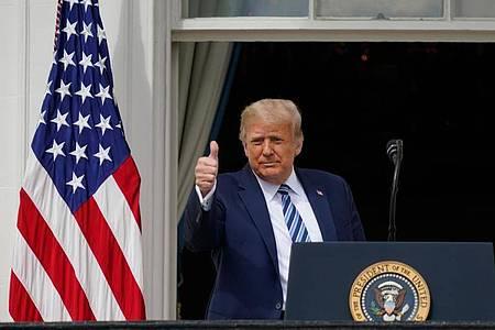 Wenige Tage nach seiner Infektion mit demCorona-Virus will Donald Trump den Wahlkampf wieder aufnehmen. Foto: Alex Brandon/AP/dpa