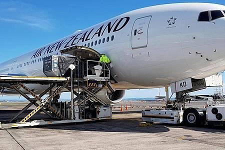 Tausende wegen der Coronavirus-Krise in Neuseeland festsitzende Ausländer, darunter auch viele Deutsche, können den Pazifikstaat verlassen. Foto: -/Air New Zealand/AP/dpa