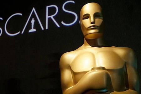 Eine Oscar-Statue im Rahmen der 91. Oscarverleihung. Mehr als 9000 Academy-Mitglieder bestimmen jedes Jahr die Oscar-Preisträger. Foto: Danny Moloshok/Invision/AP/dpa