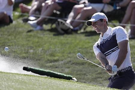 Auch der Weltranglisten-Erste Rory McIlroy war bei der Players Championship am Start. Foto: Lynne Sladky/AP/dpa