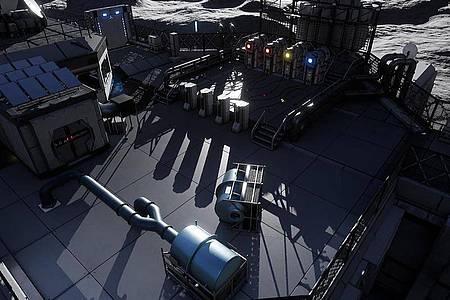 Mit der entsprechenden Hardware lässt sich «Deliver Us The Moon» auch mit Raytracing spielen, was die Lichtdarstellung in solchen Szenen noch einmal verschönert. Foto: Wired Productions/dpa