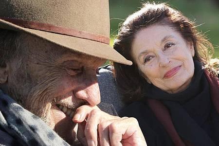 Jean-Louis (Jean-Louis Trintignant) und Anne (Anouk Aimée) in «Die schönsten Jahre eines Lebens». Foto: Wild Bunch/dpa