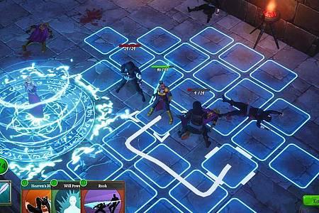 Die Kämpfe in «Grand Guilds» sind rundenbasiert. Foto: Drix Studios/dpa-mag