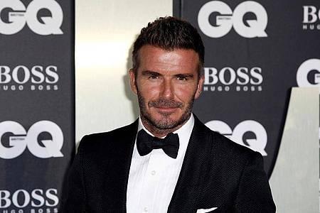 Bei der Online-Gala am Samstagabend hat auch David Beckham einen Gastauftritt. Foto: Grant Pollard/Invision/AP/dpa