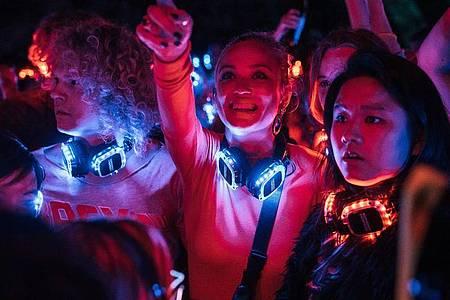 "Luna Wedler als Studentin Mia Akerlund in einer Szene aus ""Biohackers"". Foto: Marco Nagel/Netflix/dpa"