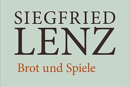 Das Cover des Buches «Brot und Spiele» von Autor Siegfried Lenz. Foto: Hoffmann und Campe Verlag/dpa