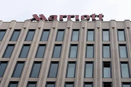 Das Hotel Marriott am Potsdamer Platz in Berlin. Foto: picture alliance / dpa