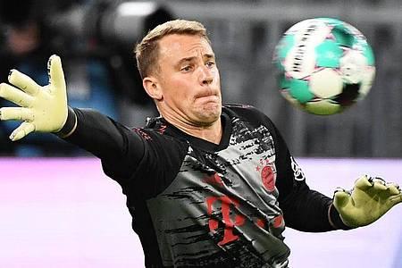 Bayern-Keeper Manuel Neuer hatte fast nichts zu tun. Foto: Matthias Balk/dpa